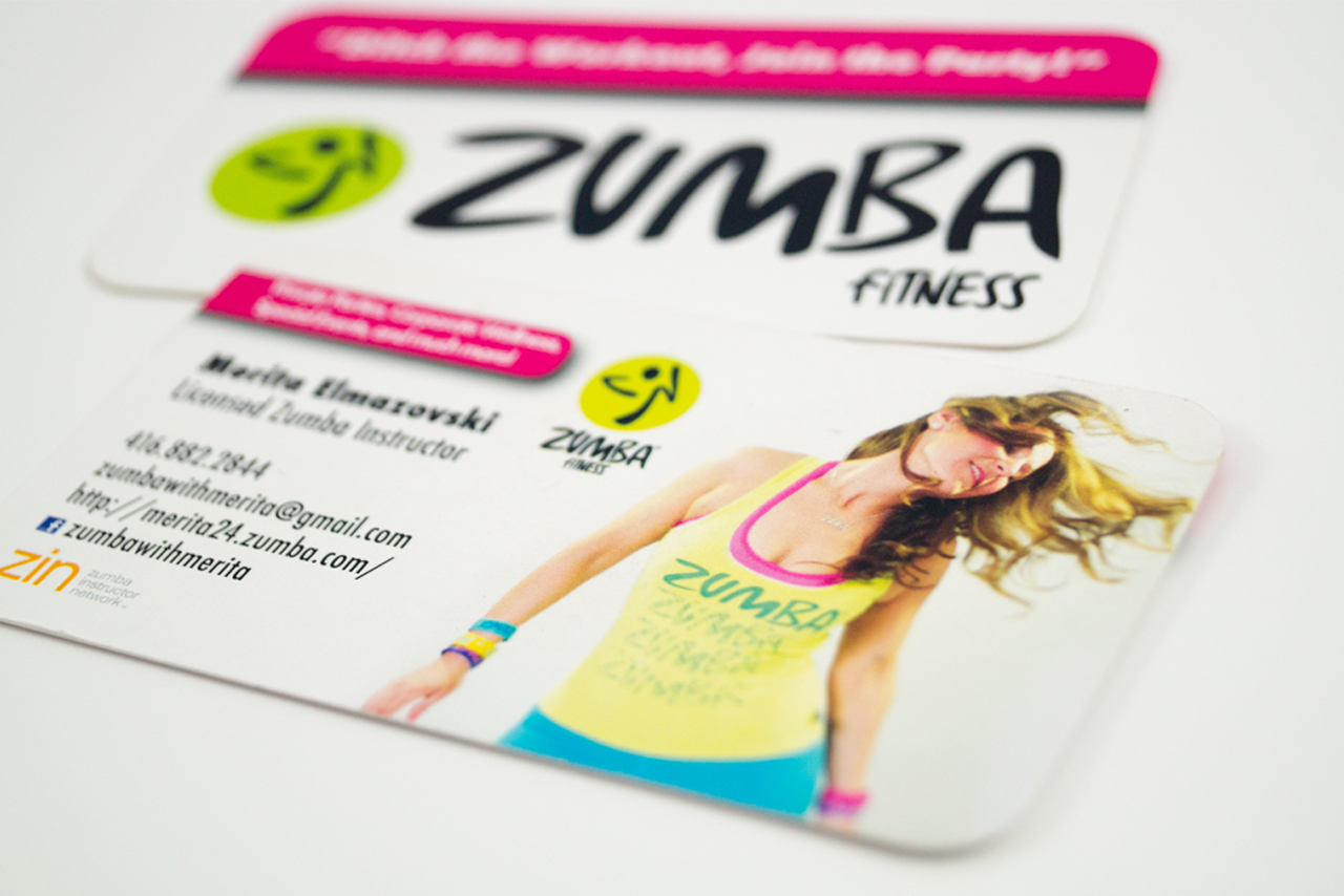 Order Zumba Business Cards Gallery - Card Design And Card Template